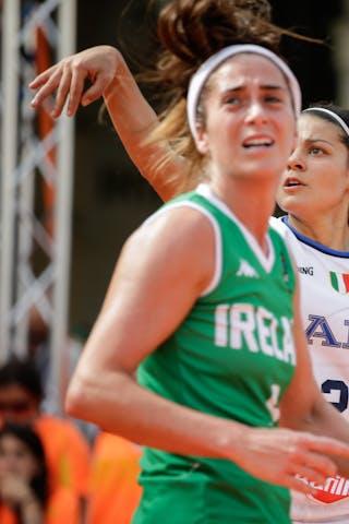 9 Grainne Dwyer (IRL) - 2 Raelin Marie D'alie (ITA)