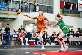 7 Keely Froling (AUS) - 3 Loyce Bettonvil (NED) - Game5_Final_Netherlands vs Australia