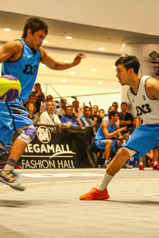 #3 Romeo Terrence Bill, Team Manila West, 2014 World Tour Manila, 3x3game, 20. July