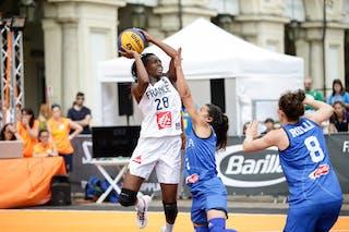 28 Migna Touré (FRA)