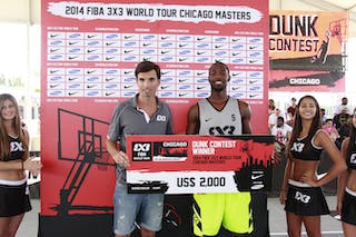 #5 Robbie Smythe, Team Louisville, 2014 World Tour Chicago, Slamdunk Contest, 16 August, Day 2.
