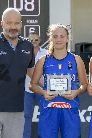 5 Giulia Ianezic (ITA) - 15 Clara Rosini (ITA)