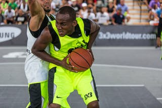 Barceloneta vs San Cristobal at the San Juan Masters 10-11 August 2013 FIBA 3x3 World Tour, San Juan, Puerto Rico. Day 2