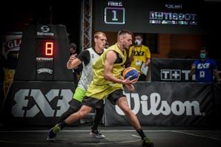 2 Nauris Miezis (LAT) - 4 Marko Brankovic (SRB)