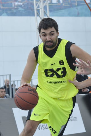 #6 Caddebostan ( Turkey) Bucharest (Romania)  2013 FIBA 3x3 World Tour final in Istanbul