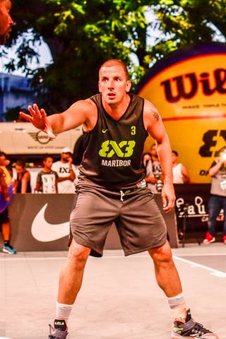 3 Rok Smaka (SLO) - 4 Willie Murdaugh (CAN) - Saskatoon v Maribor, 2016 WT Lausanne, Pool, 26 August 2016