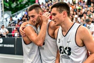 5 Aleksandar Ratkov (SRB) - 3 Stefan Stojačić (SRB) - Liman v Pavia, 2016 WT Lausanne, Last 8, 27 August 2016