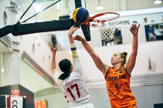 9 Esther Fokke (NED) - 17 Nanami Seki (JPN) - Game3_Japan U23 vs Netherlands