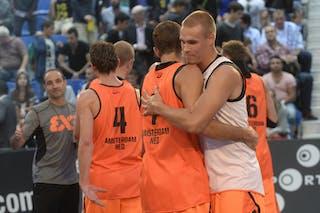 Team Amsterdam, FIBA 3x3 World Tour Lausanne 2014, day 1, 29. August.