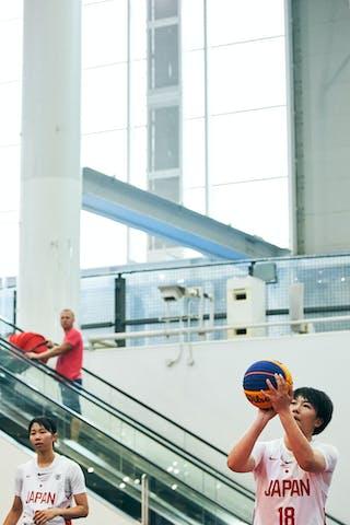 18 Sayako Ozaki (JPN) - Game2_Pool A_Japan U23 vs Mongolia