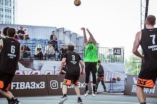 3 Steve Sir (CAN) - 5 Aleksandar Ratkov (SRB)