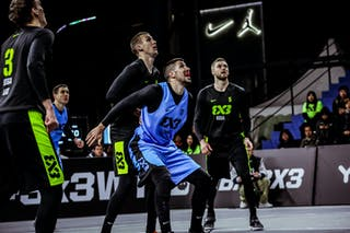 5 Marko Brankovic (SRB) - 5 Janis Antrops (LAT) - 4 Kārlis Lasmanis (LAT) - 3 Nauris Miezis (LAT)