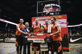 Team Novi Sad, winner of the FIBA 3x3 World Tour Tokyo Final 2014, 11-12 october