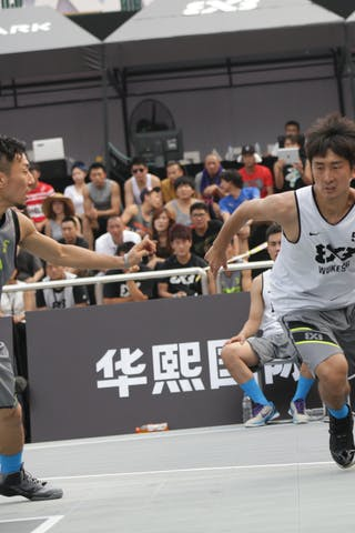 #5 Wang Cong, Team Wukesong, 2014 World Tour Beijing, 3x3game, 2-3 August.