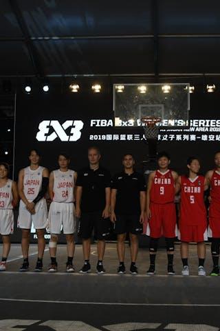 25 Risa Nishioka (JPN) - 24 Mamiko Tanaka (JPN) - 23 Mai Yamamoto (JPN) - 22 Kiho Miyashita (JPN) - 10 Zhiting Zhang (CHN) - 9 Jiayin Jiang (CHN) - 7 Di Wu (CHN) - 5 Yingyun Li (CHN)