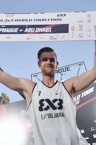 7 Blaz Cresnar (SLO) - Ljubljana v Saskatoon, 2016 WT Prague, Final, 7 August 2016