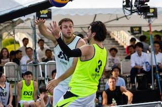 7 Adin Kavgic (SLO) - Piran v Okayama, 2016 WT Utsunomiya, Pool, 30 July 2016