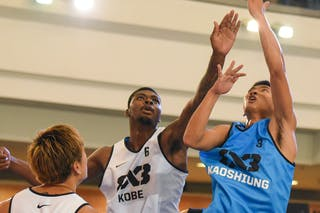 Kobe v Kaohsiung, 2015 WT Manila, Pool, 1 August 2015