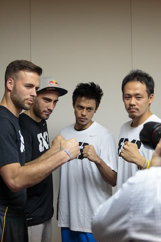 Dusan Domovic Bulut, Griffin Derek, Romeo Terrence Bill, FIBA 3x3 World Tour Tokyo Final 2014, 11-12 October.