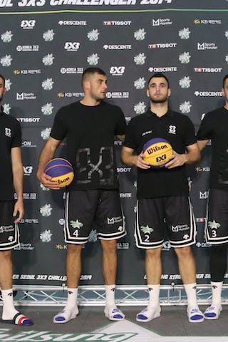 4 Nikola Vukovic (SRB) - 3 Lazar Rasic (SRB) - 2 Marko Dugosija (SRB) - 1 Bogdan Dragovic (SRB)