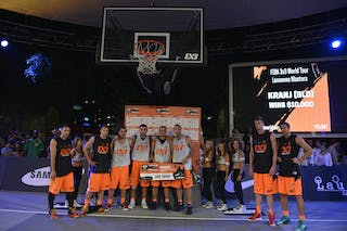 Kranj (Slovenia) winners 2013 FIBA 3x3 World Tour Masters in Lausanne