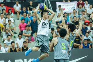 #4 Jiang Huai, Team Guangzhou, 2014 World Tour Beijing, 3x3game, 2-3 August.