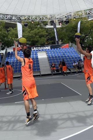Team Amsterdam, FIBA 3x3 World Tour Lausanne 2014, 29-30 August.