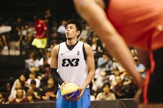 #3 Terrence Romeo Bill, Team Manila West, FIBA 3x3 World Tour Final Tokyo 2014, 11-12 October.