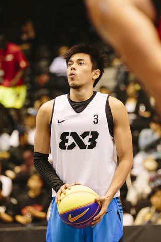 #3 Terrence Romeo Bill, Team Manila West, FIBA 3x3 World Tour Final Tokyo 2014, 11-12 October.