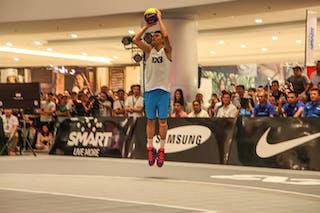 Player shooting, 2014 World Tour Manila, 3x3, 20. July.
