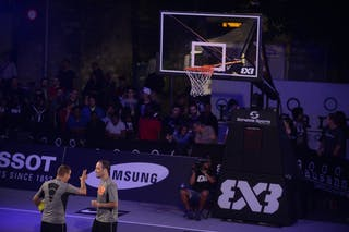 Referees, FIBA 3x3 World Tour Lausanne 2014, Day 1, 29. August.