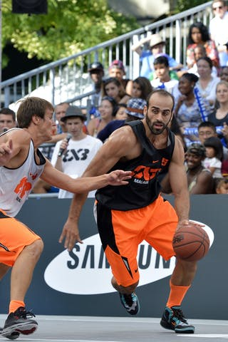 #5 Malaga (Spain) 2013 FIBA 3x3 World Tour Masters in Lausanne