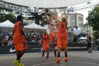 #7 Cresnar Blaz, Team Ljubljana, FIBA 3x3 World Tour Lausanne 2014, day 1, 29. August.