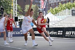 FIBA 3x3, World Tour 2021, Montréal, Canada, Esplanade de la Place des Arts.