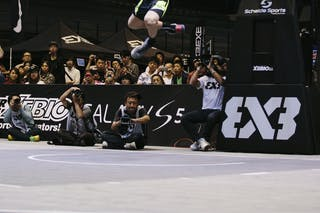 Jordan Burger, Team Santos, dunk contest, FIBA 3x3 World Tour Final Tokyo 2014, 11-12 October.