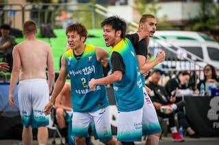 3 Marko Milaković (JPN) - 2 Daisuke Kobayashi (JPN) - 1 Yosuke Saito (JPN)