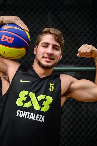 #5 Gusmao Victor, Team Fortaleza, FIBA 3x3 World Tour Rio de Janeiro 2014, 27-28 September.