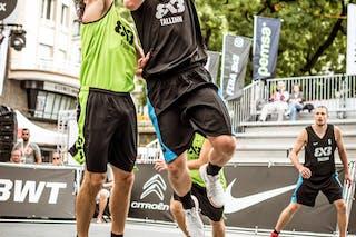 4 Simon Finzgar (SLO) - 3 Martin Dorbek (EST) - 5 Oliver Metsalu (EST)