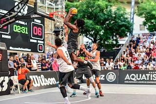 4 Charles Bronchard (FRA) - 6 Oliver Vogt (SUI) - 5 Yino Martinez (SUI) - 5 Dominique Gentil (FRA) - Lausanne v Paris, 2016 WT Lausanne, Last 8, 27 August 2016