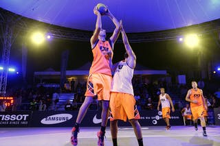 #7 Mitrovic Danilo, Team Belgrade, FIBA 3x3 World Tour Lausanne 2014, Day 1, 29. August.
