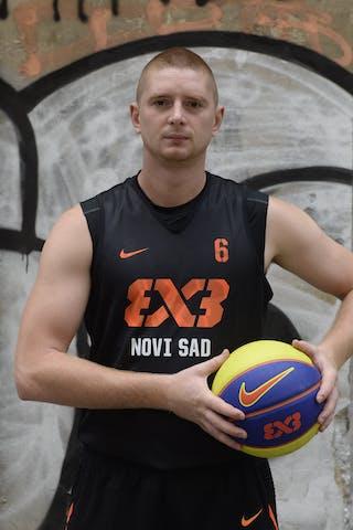 Marko Savic. Team Novi Sad. 2014 World Tour Prague.
