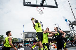 #6 Camilo Erick, Team Fortaleza, FIBA 3x3 World Tour Rio de Janeiro 2014, Day 2, 28. September.