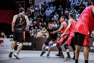 6 Xibao Zhang (CHN) - 5 Guanyi Zhang (CHN) - 3 Liu Hang (CHN) - 7 Tserenbaatar Enkhtaivan (MGL)