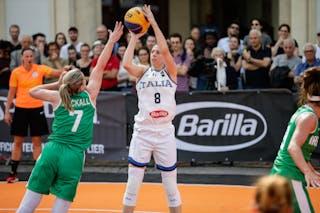 7 Claire Rockall (IRL) - 8 Giulia Rulli (ITA)