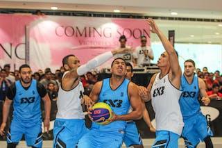 #3 Haku Anamata, Team Auckland, 2014 World Tour Manila, 3x3, 20. July.