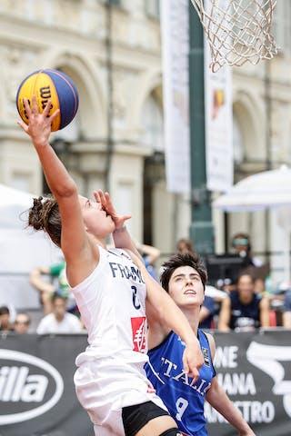 9 Giulia Ciavarella (ITA) - 6 Caroline Hériaud (FRA)