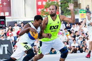 3 Leo Lagutin (RUS) - St Petersburg v Malaga, 2016 WT Utsunomiya, Pool, 30 July 2016