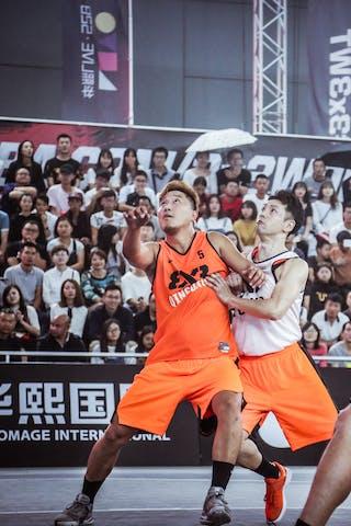6 Masahiro Komatsu (JPN) - 5 Chen Liu (CHN) - 6 Wang Xuefeng (CHN)