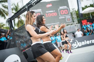 Cheerleaders, FIBA 3x3 World Tour Rio de Janeiro 2014, Day 2, 28. September.