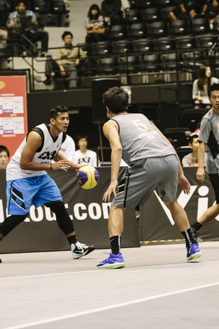 #6 Ramadhani Fandi Andika, Team Jakarta, FIBA 3x3 World Tour Final Tokyo 2014, 11-12 October.
